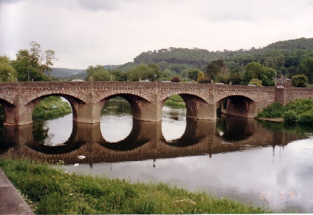 Wye Bridge, Monmouth. Photo: Tom Courtney.