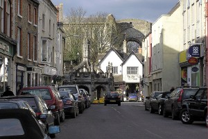 Malmesbury main street. Photo: Arpingstone via wikimedia commons.