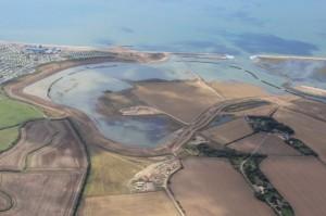Medmerry managed realignment scheme, Sussex.