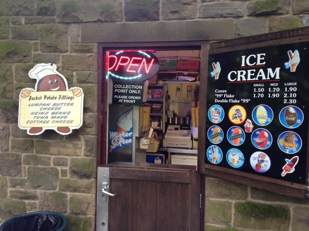 Buy your ice creams here