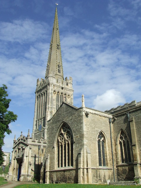 """St Peter's Church Oundle - geograph.org.uk - 1429523"" by Keith Evans - From geograph.org.uk. Licensed under Creative Commons Attribution-Share Alike 2.0 via Wikimedia Commons - http://commons.wikimedia.org/wiki/File:St_Peter%27s_Church_Oundle_-_geograph.org.uk_-_1429523.jpg#mediaviewer/File:St_Peter%27s_Church_Oundle_-_geograph.org.uk_-_1429523.jpg"