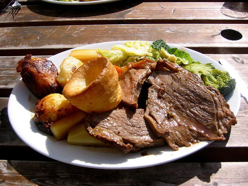Photo: adactio via wikimedia commons http://commons.wikimedia.org/wiki/Food#mediaviewer/File:Sunday_roast_-_roast_beef_1.jpg