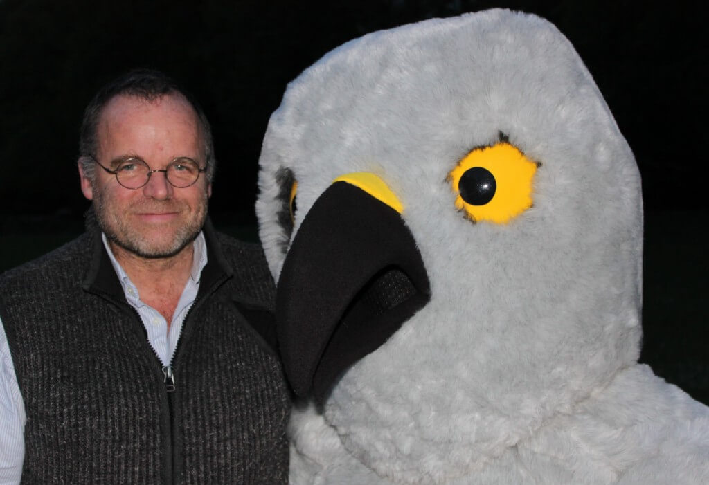 Andy Wightman with Henry
