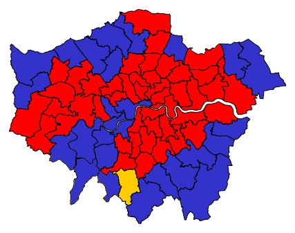 LondonParliamentaryConstituency2015Results