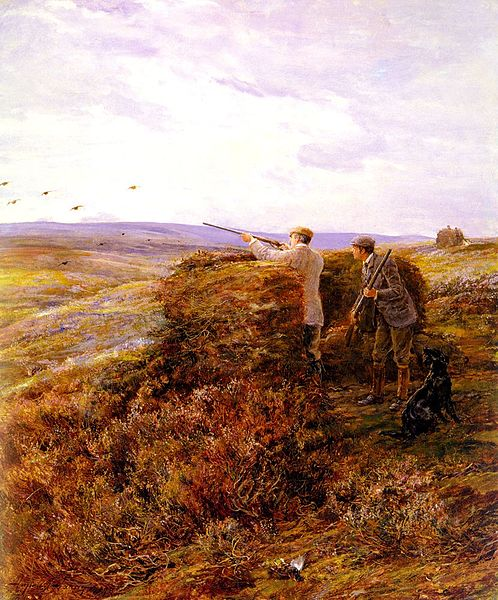 498px-Hardy_Heywood_-_The_Grouse_Shoot_1898