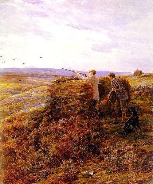498px-Hardy_Heywood_-_The_Grouse_Shoot_1898