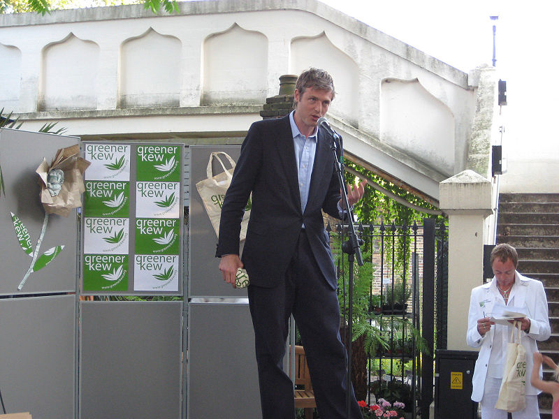 By Annie Mole (Zac Goldsmith at Greener Kew launch party) [CC BY 2.0 (http://creativecommons.org/licenses/by/2.0)], via Wikimedia Commons